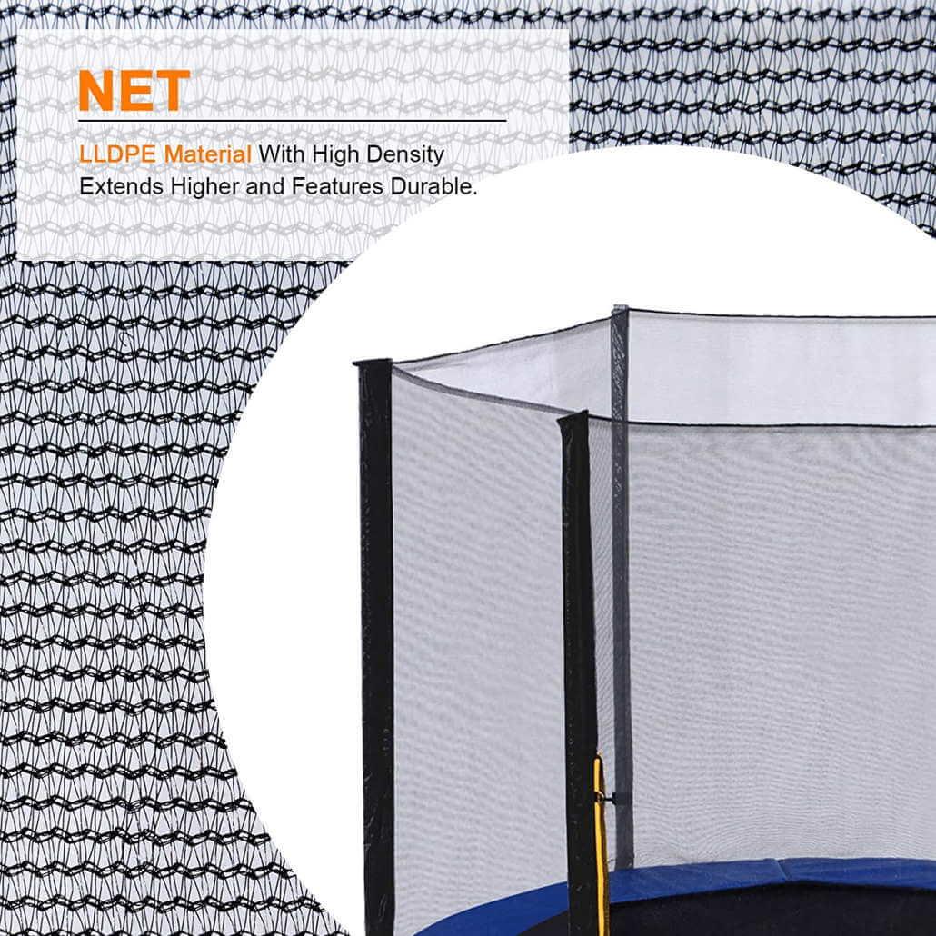 exacme trampoline enclosure