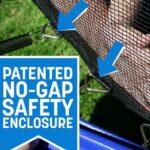 no-gap safety enclosure on Skywalker