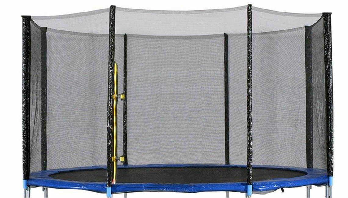 Trampoline safety enclosure