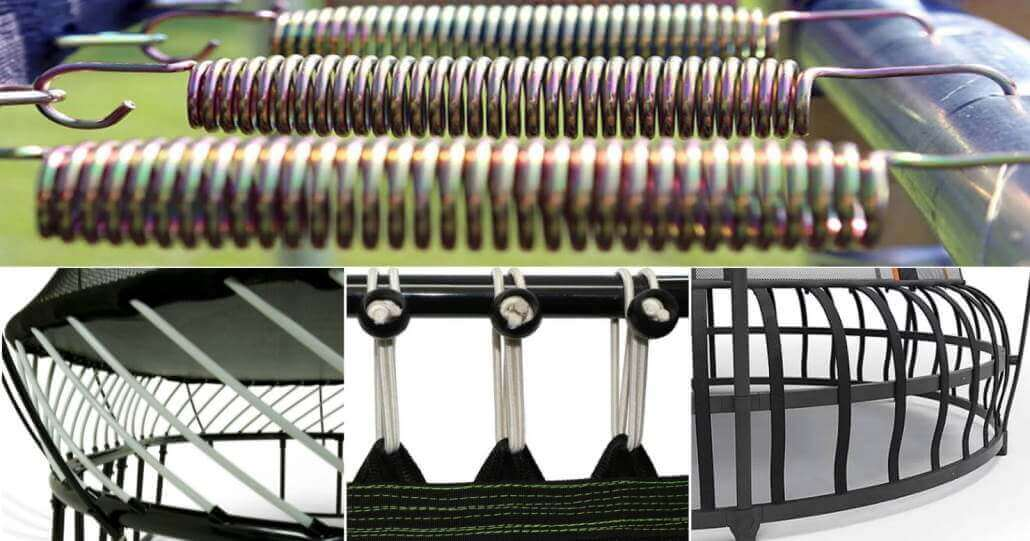 types of springs on trampoline buying guide