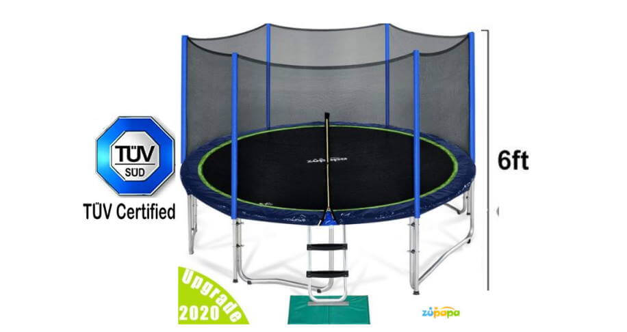 Zupapa 15ft in TOP 10 best trampolines