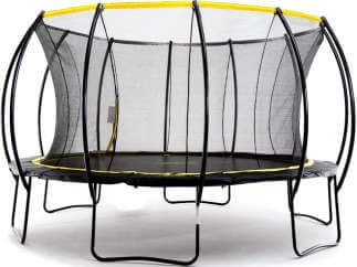 Skybound Stratos, nice looking round trampoline available in three different sizes, 12ft, 14ft and 15ft